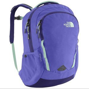 The North Face Vault flex vent backpack purple